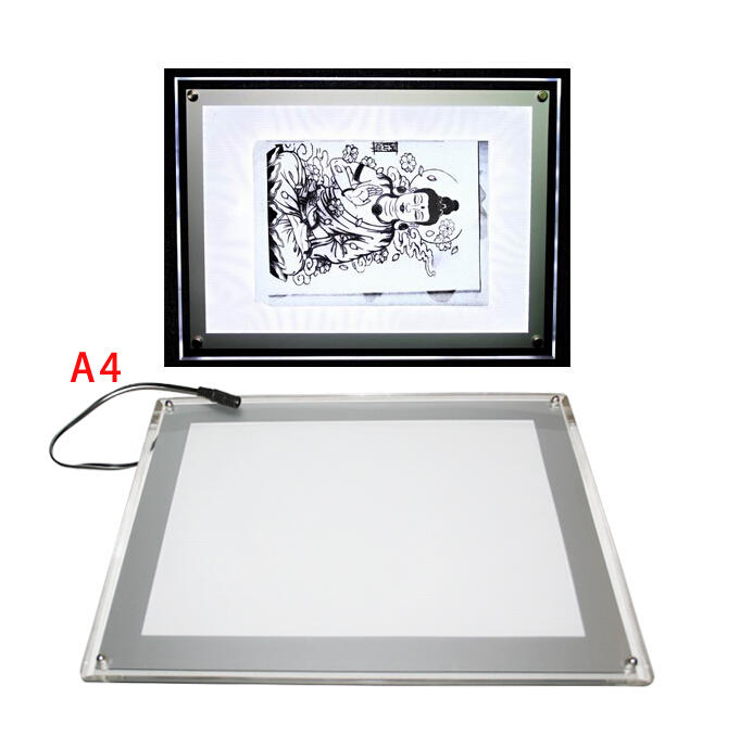Yilong Upgraded light pad for tattoo tracing, A4size-1200g