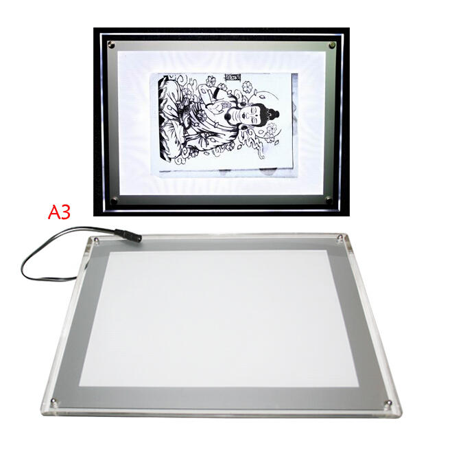 Yilong Upgraded light pad for tattoo tracing, A3size-2100g