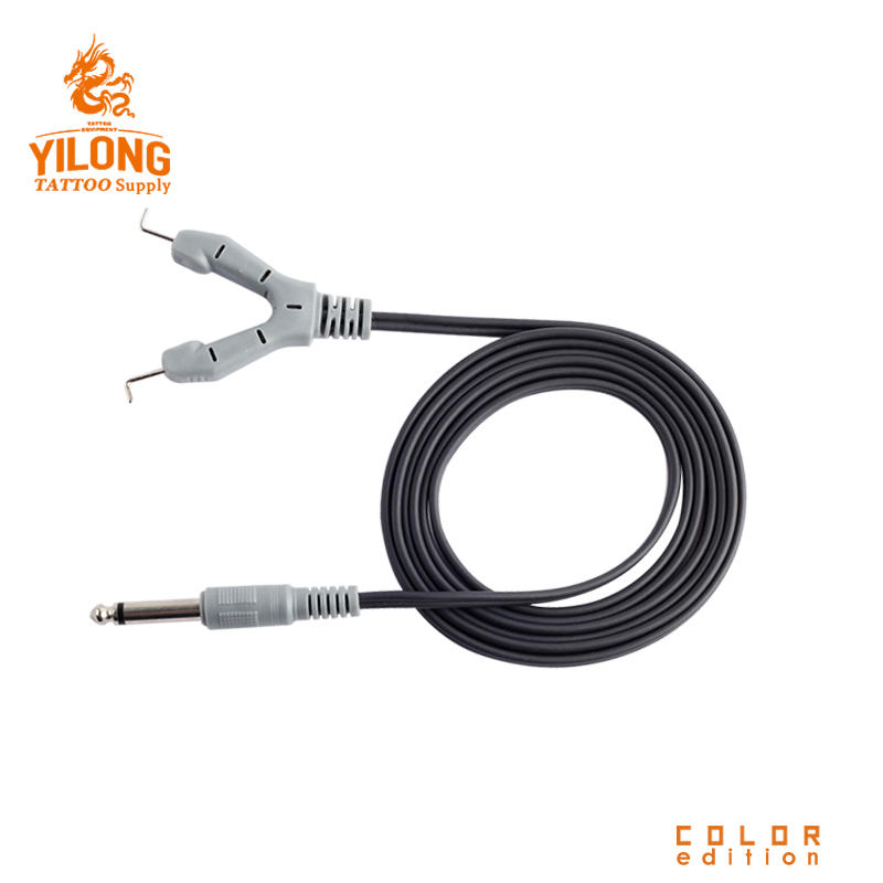 Yilong Tattoo High Quality New 1.8M Clip Cord Silicone for Tattoo Machine