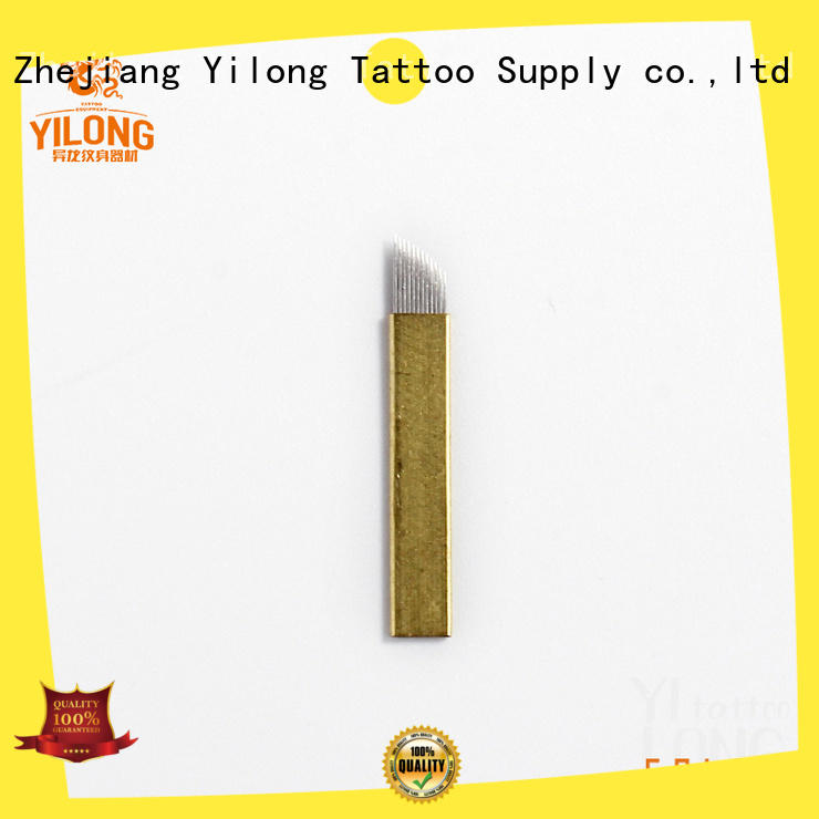 Yilong eyebrow needles factory for wired eyebrows