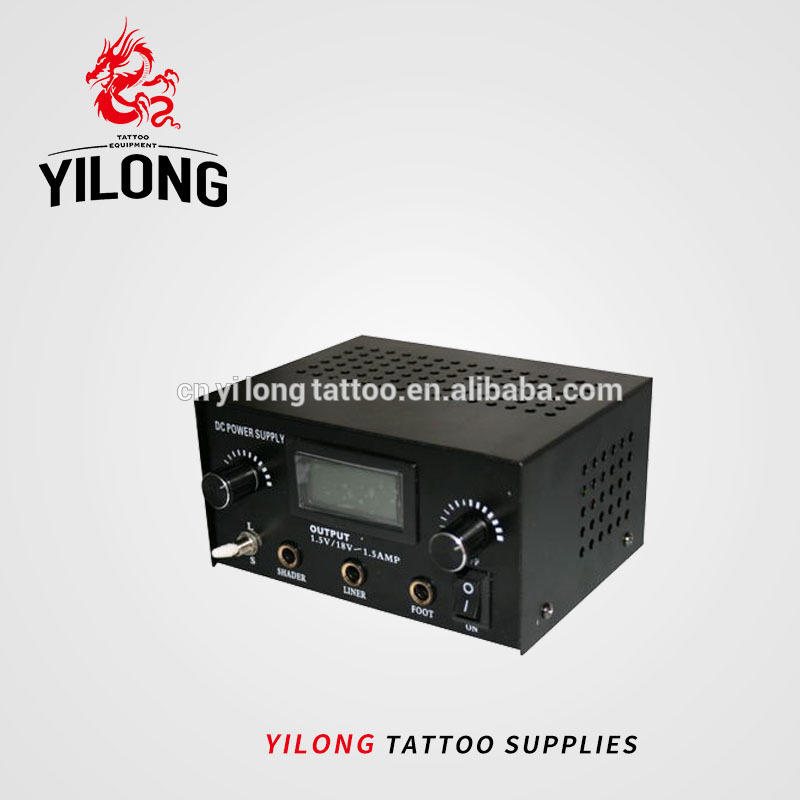 2018 Yilong sell better Dual Tattoo Power Supply