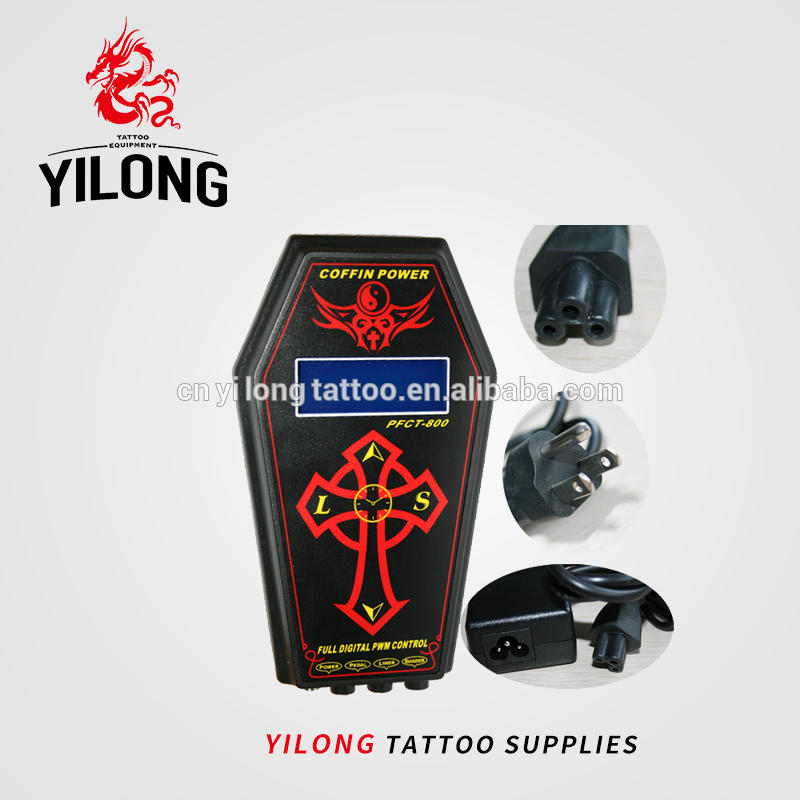 Coffin tattoo power supply