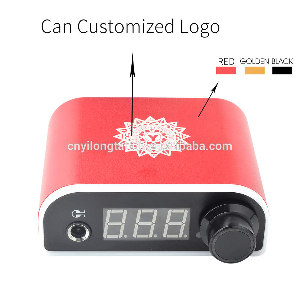 YILONG Professional Digital Dual three Tattoo Power Supply