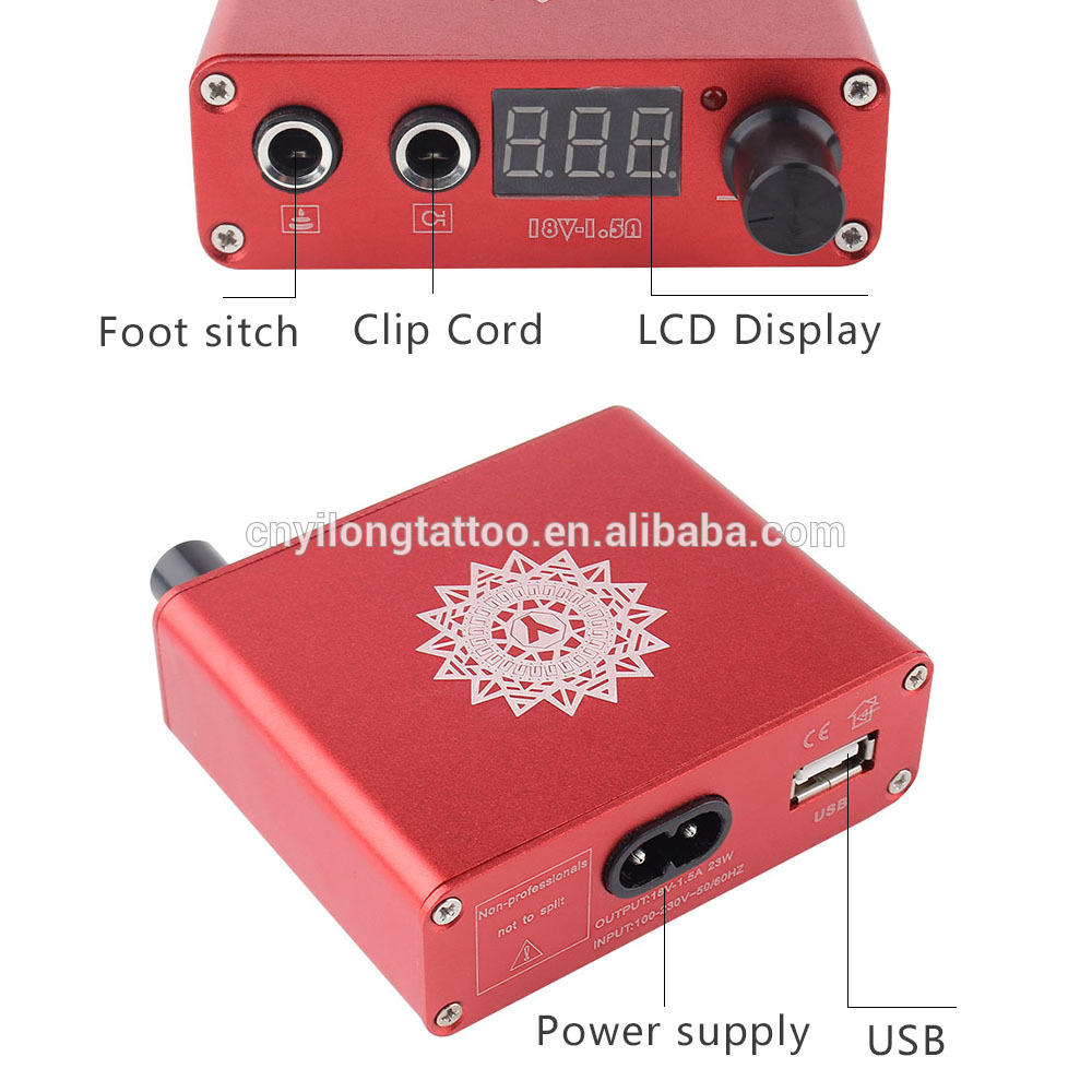 YILONG High Quality Tattoo Professional Power supply ED-150