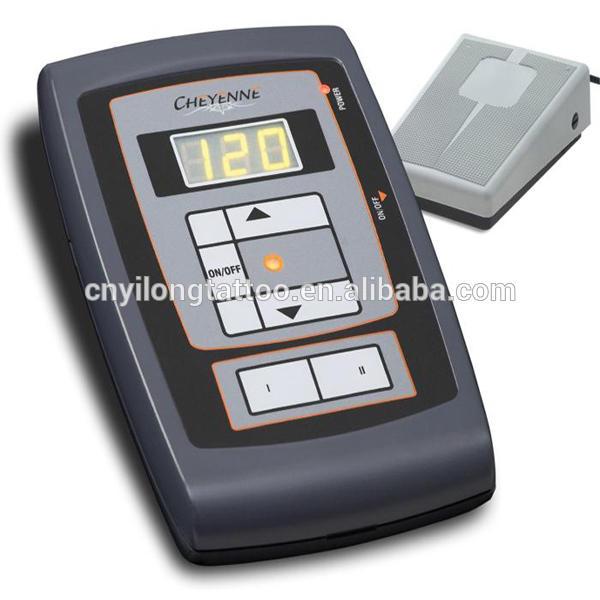 Dual machines, digital tattoo power supply