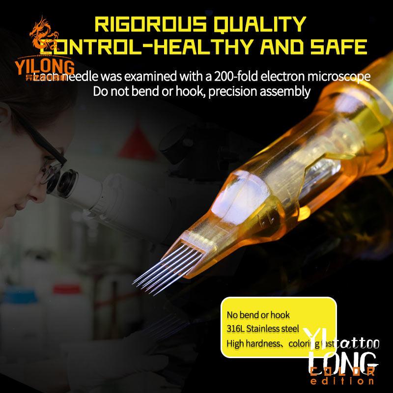 Yilong Yellow Dragon Cartridge Needles II