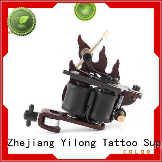 Yilong alloy lightweight tattoo machine supply for tattoo