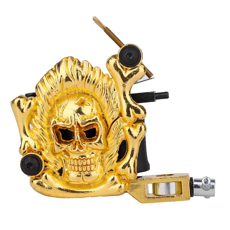 Embossment Skull Tattoo Machine