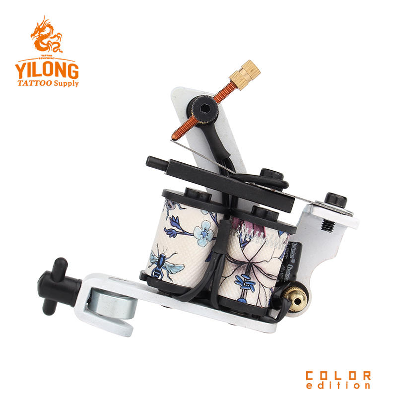 Yilong ColorfulProfessional Tattoo Coil Machines Latest Design Coils Tattoo Making Machines