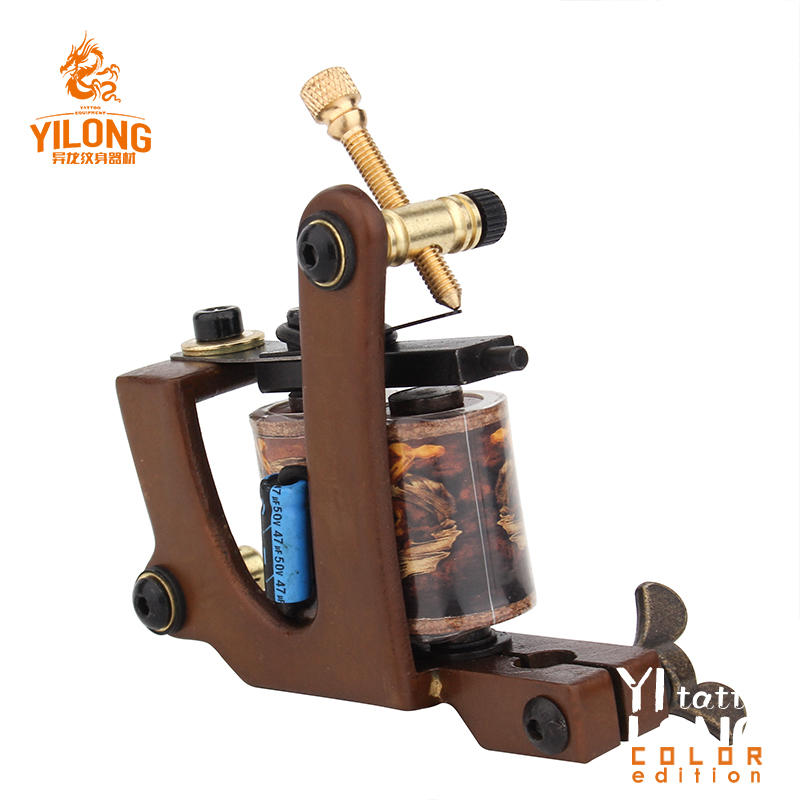 YILONG 2019 Newest Pure Copper Tattoo Coil Tattoo Machines