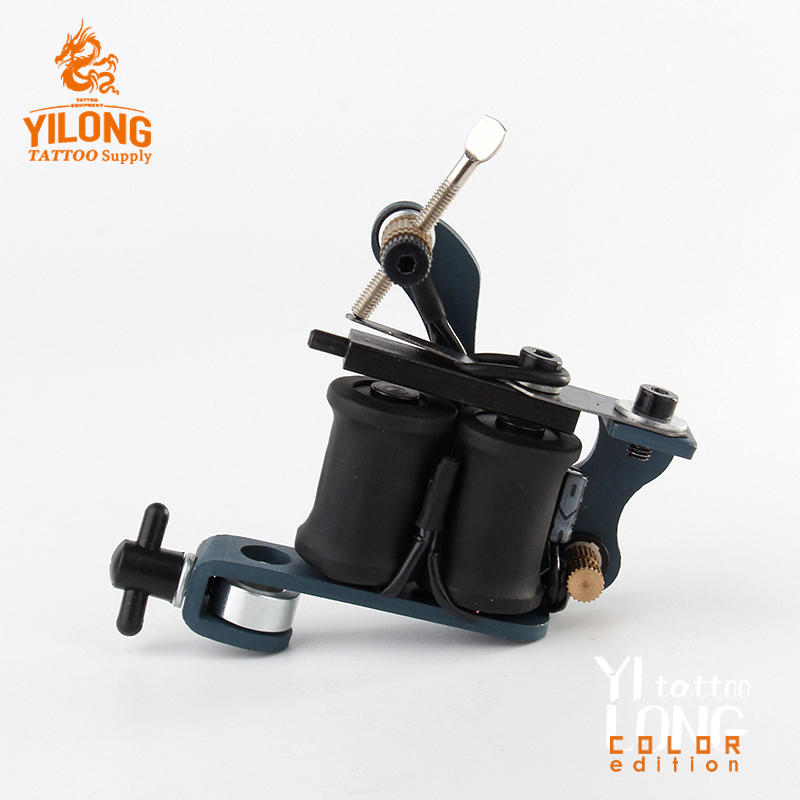 Yilong Factory Price Hot Sale Iron Tattoo Machine Used for Lined and Shader Coil Tattoo Machine
