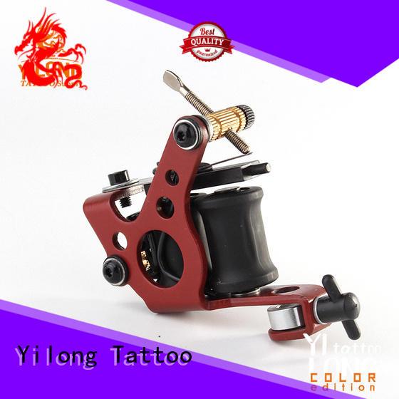 Yilong auto tattoos machine factory for tattoo machine