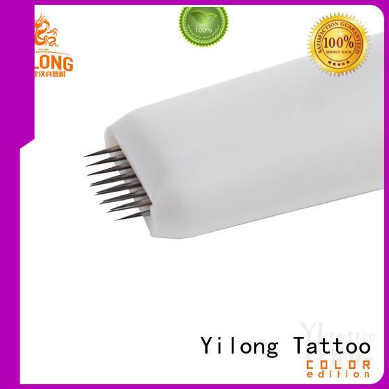 Yilong High-quality eyebrow needles suppliers for granular fog eyebrows