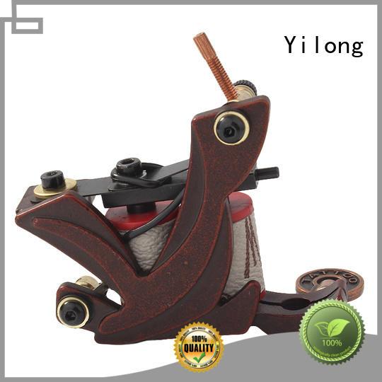 Yilong making painless tattoo machine company for tattoo