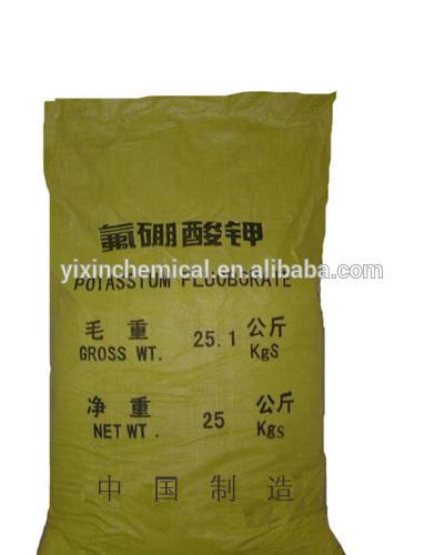 White solid CAS NO 14075-53-7 potassium boron fluoride