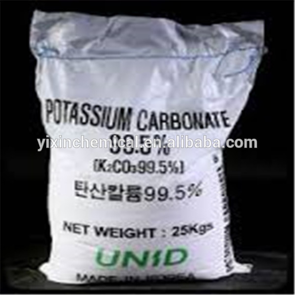 Technical Grade 99% Potassium Carbonate use for food medicine glass industry