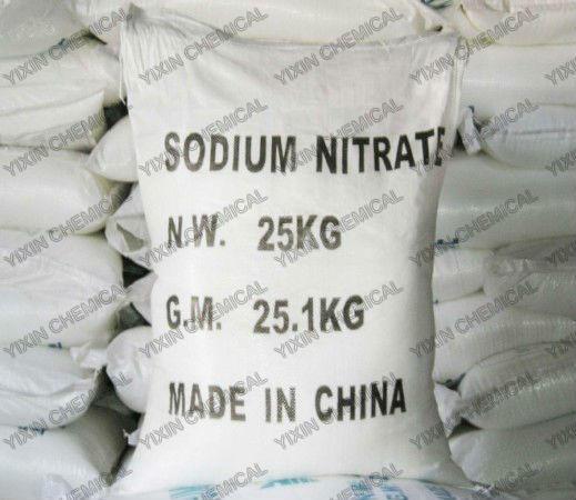 Sodium nitrate NaNO3 industrial grade 7631-99-4