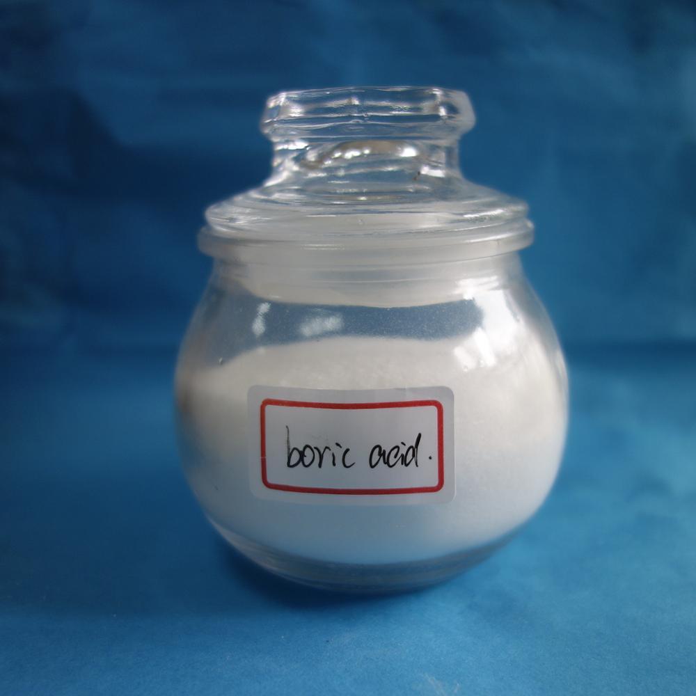 Glass making material white borofax boric acidpowder H3BO3