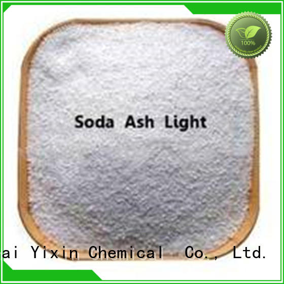 Yixin soda ash for sale manufacturers for chemical manufacturer