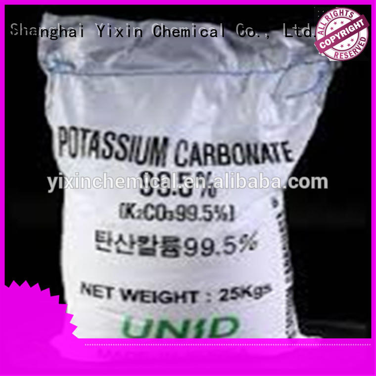 High-quality potassium bicarbonate solubility factory for food medicine glass industry