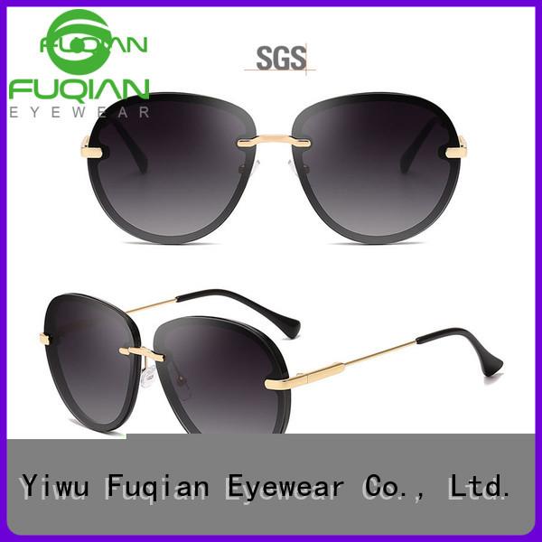 Fuqian Custom women's polarized mirrored sunglasses factory