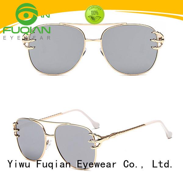 Fuqian stylish cheap sunglasses uk company for lady