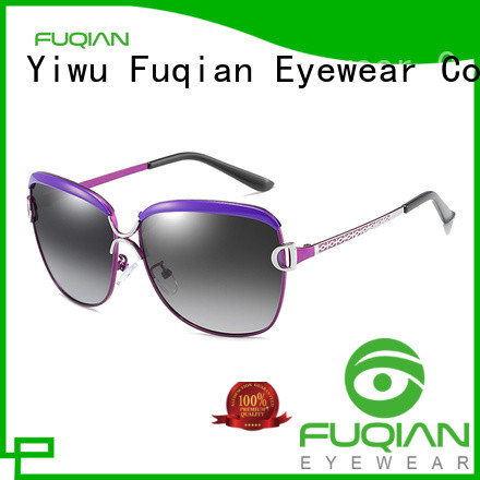 Fuqian Latest fashionable women's sunglasses Suppliers for women