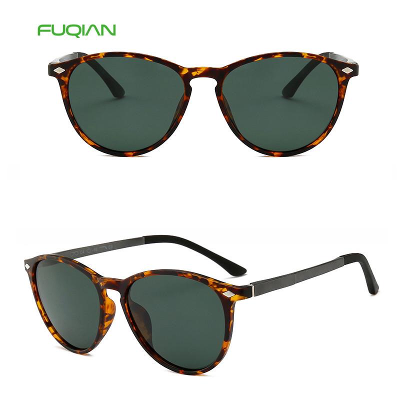 Newest Leopard Aluminum Magnesium TR90 Frame Polarized Sunglasses For Men Women