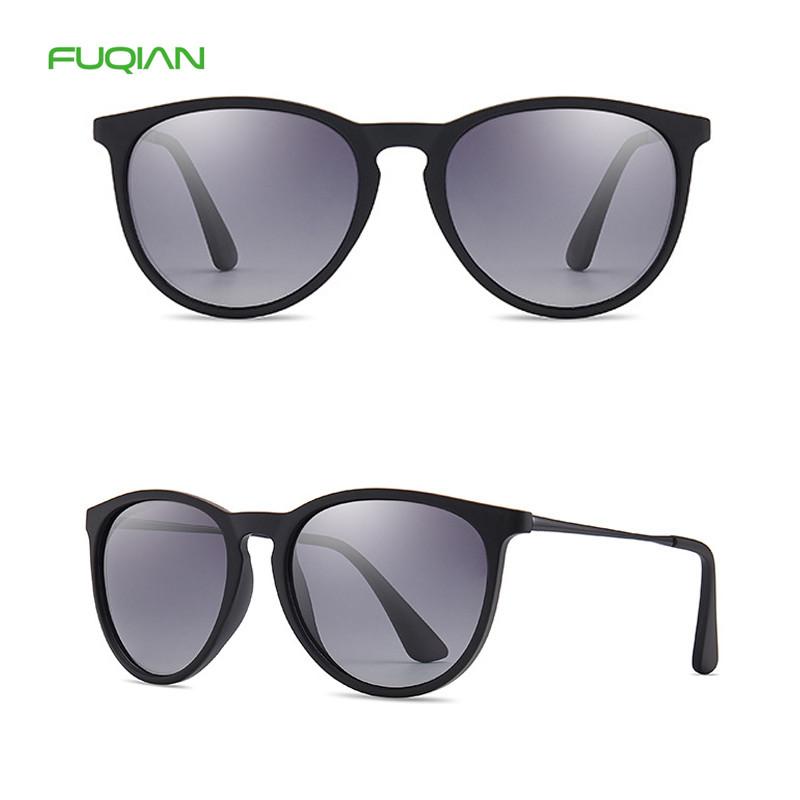 Lentes De Sol Mirror Ray Band Vintage Glasses Women Men Round Sunglasses Polarized