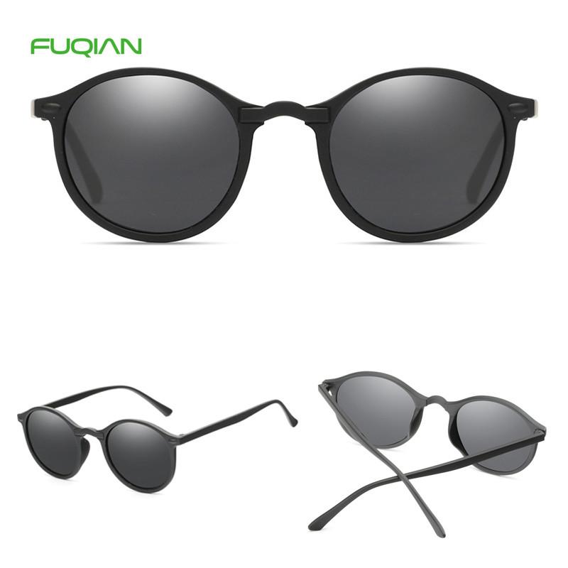 Lentes De Sol Women Men Round Sun Glasses Night Vision Sunglasses Polarized