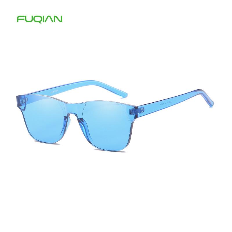 POP Trend Fashion Ocean Lens One Piece Candy Men Woman SunglassesPOP Trend Fashion Ocean Lens One Piece Candy Men Woman Sunglasses