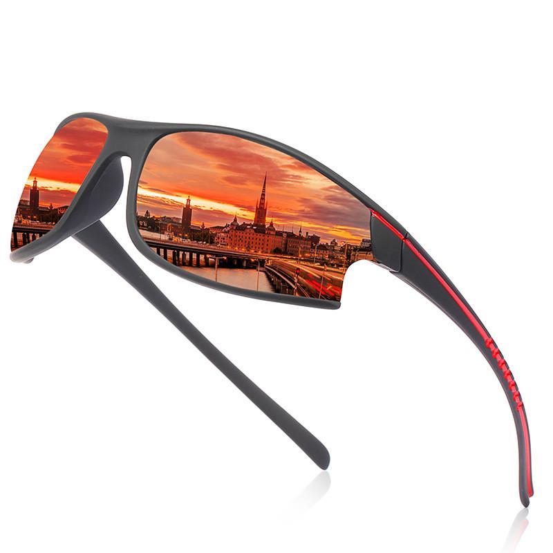 New Men's Polarized Sports Glasses Dustproof RidingCycling SunglassesNew Men's Polarized Sports Glasses Dustproof Riding Cycling Sunglasses