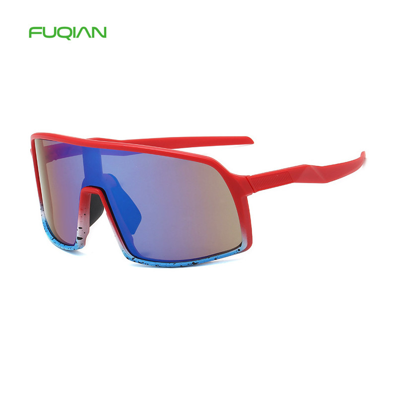 New Colorful Oversized Windproof Bicycle Sunglasses Men Women Outdoor Sports Cycling GlassesNew Colorful Oversized Windproof Bicycle Sunglasses Men Women Outdoor Sports Cycling Glasses