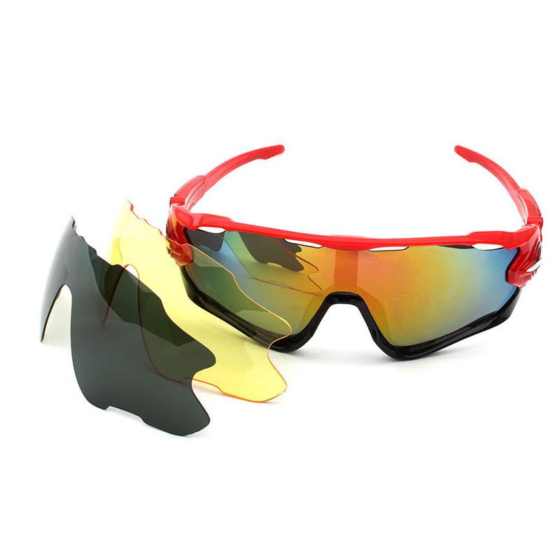 Fashion Adjustable PC Frame PC Changeable Lens Men Women Sports Sunglasses