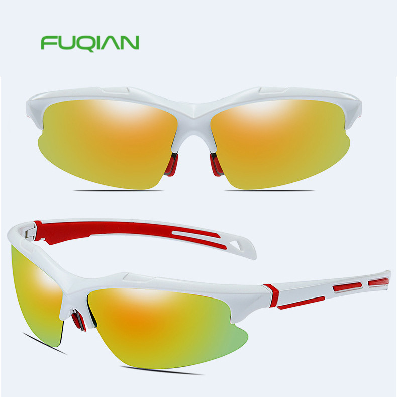 Square sports anti-explosion polarized sunglasses with CE FDA UV400Square sports anti-explosion polarized sunglasses with CE FDA UV400
