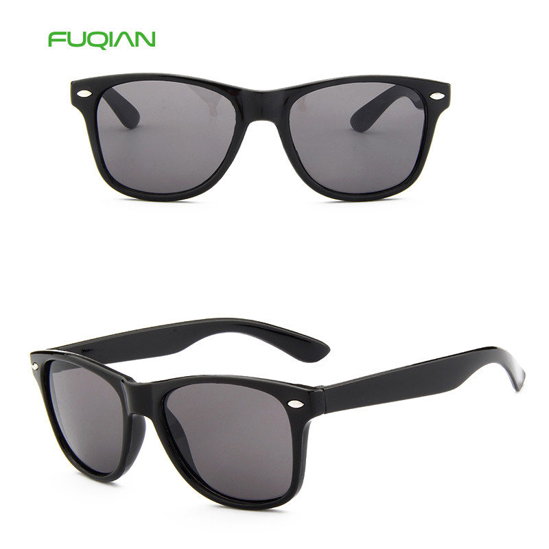 Colorful Healthy Material New Fashion Plastic Frame Rice Nail Kids Sunglasses
