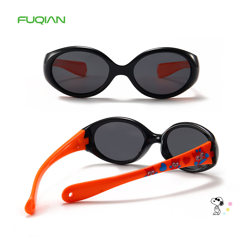 New Arrival TAC Outdoors Sports Polarized Trendy Silica Gel Kids Sunglasses