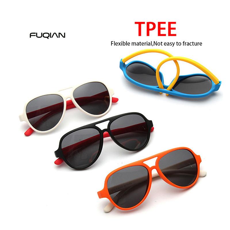 Polarized Sunglasses Frog Mirror UV400 Custom Logo Silica Gel Kids Sunglasses