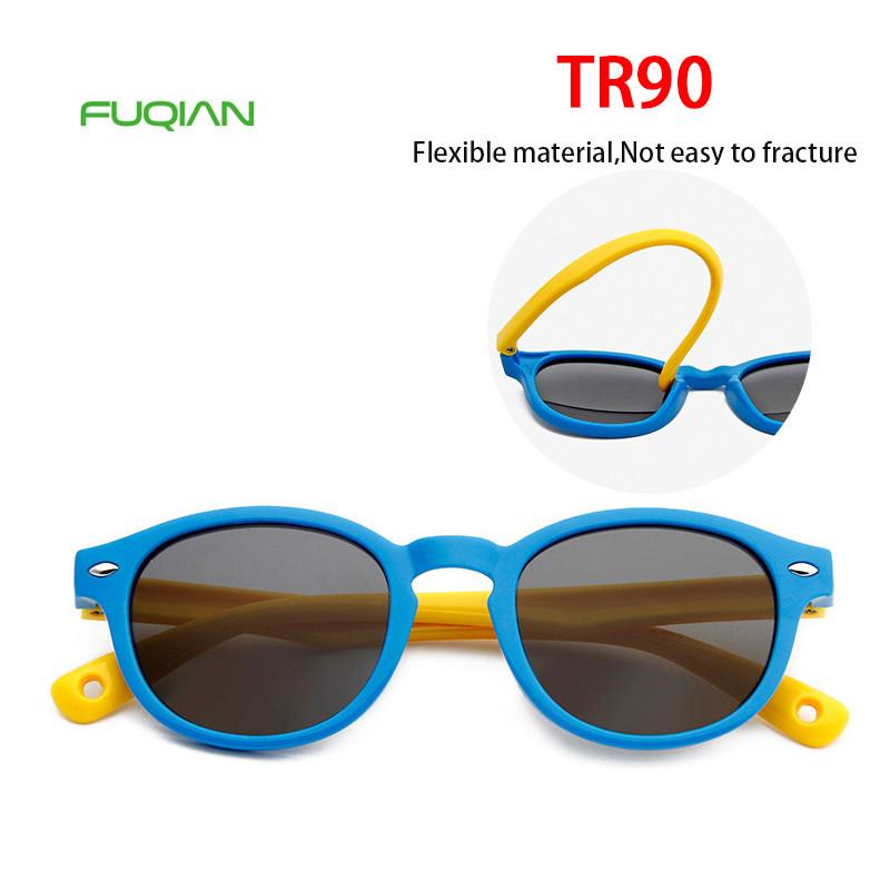 Trendy Style TR90 Sunglasses Kids Baby Polarized Children TAC Shades Sunglasses