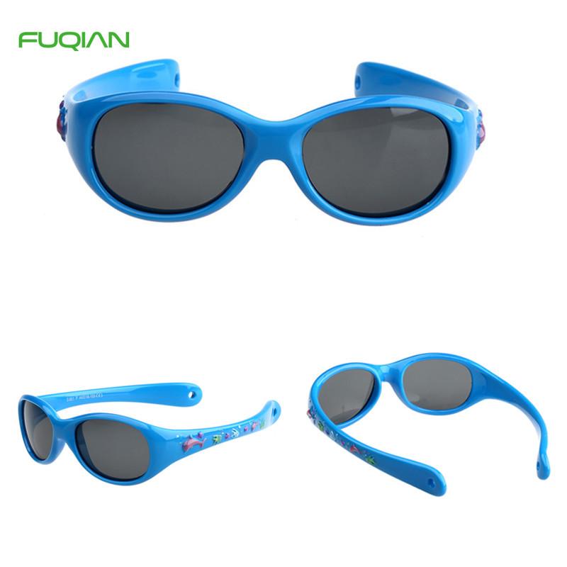 Kids Sunglasses Cute Healthy Material Multi Color TAC Polarized TR90 Sunglasses