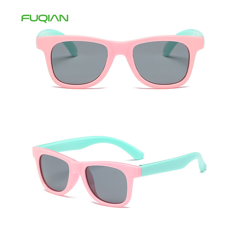Kids Sunglasses Candy Color Baby Glasses Soft Silica Gel Polarized  Sunglasses