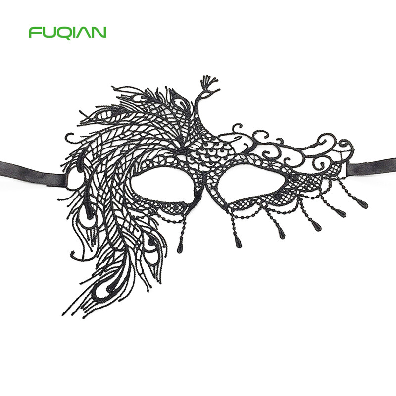 2020 Fashion Halloween Festival Party Decorations Adult Party Lace Mask