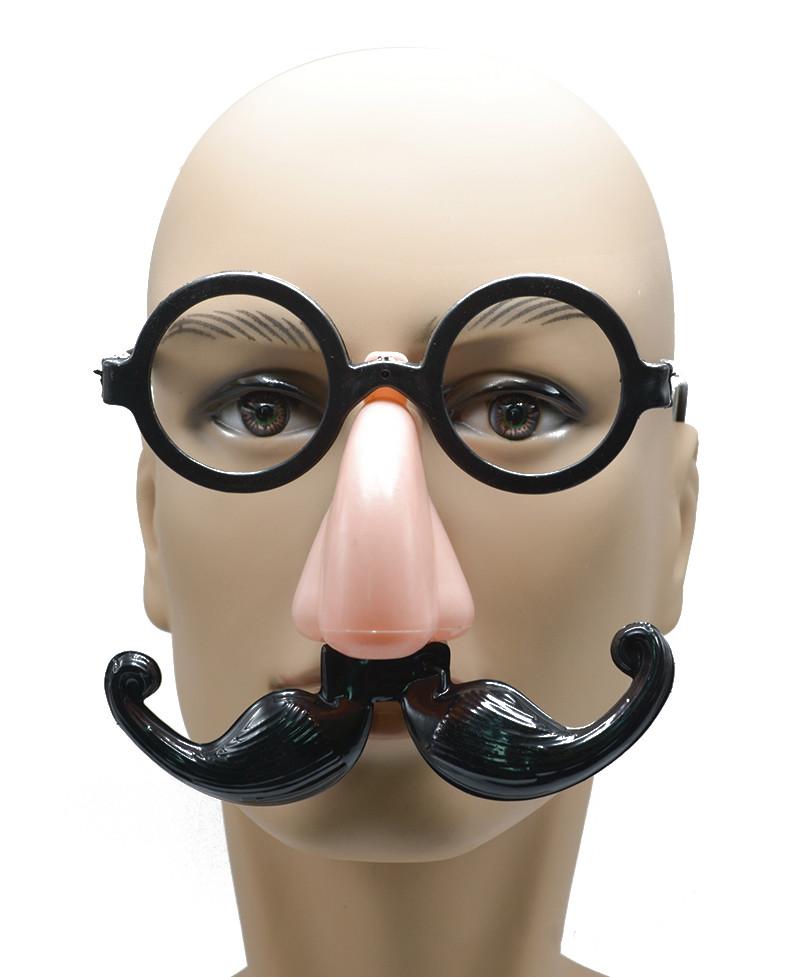 Funny Halloween Glasses Christmas Party Decoration Berad Eye Glasses Frame