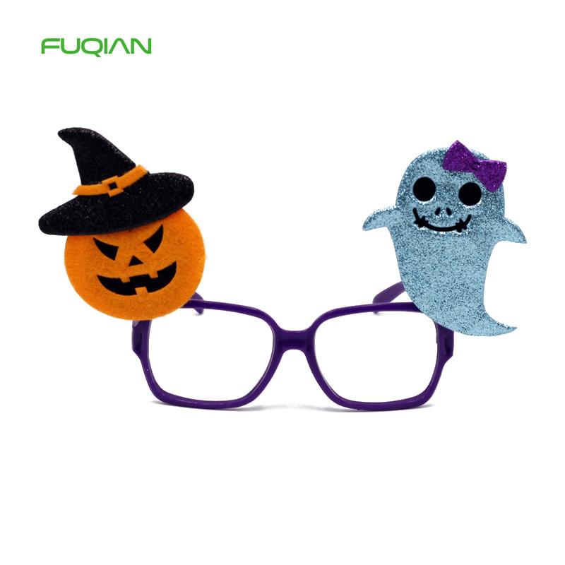 Creative Halloween Glasses Bat Pumpkin Party Kids Decoration Glasses Frame
