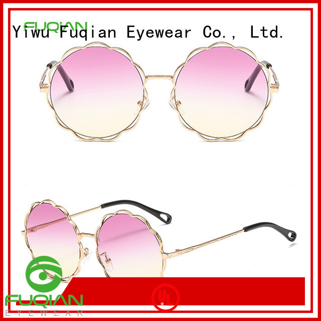 Fuqian New clear polarized glasses customized for lady