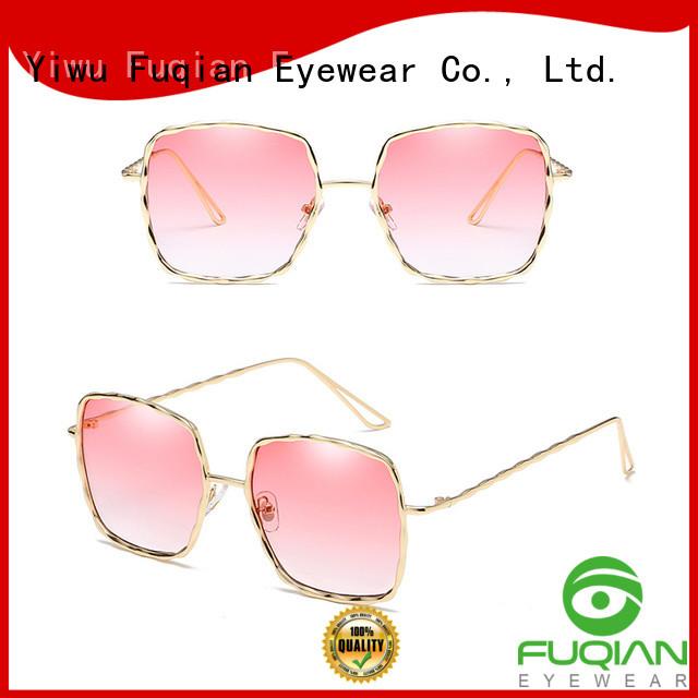 Fuqian Custom sunglass world factory