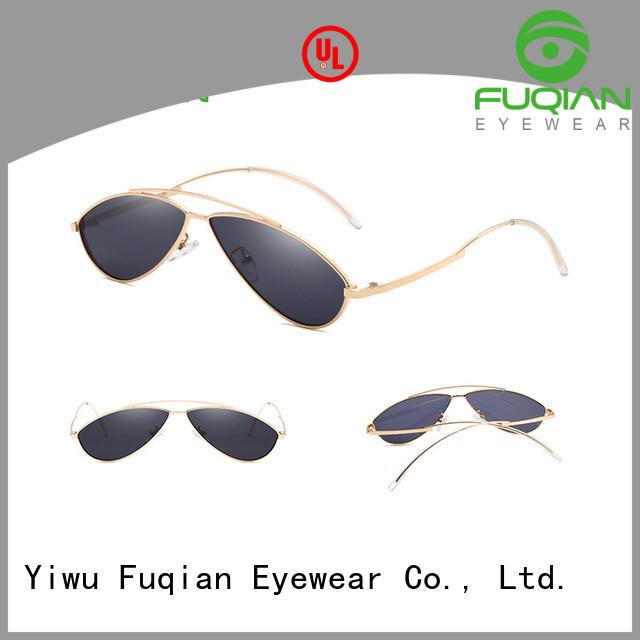 Fuqian female designer sunglasses factory for women