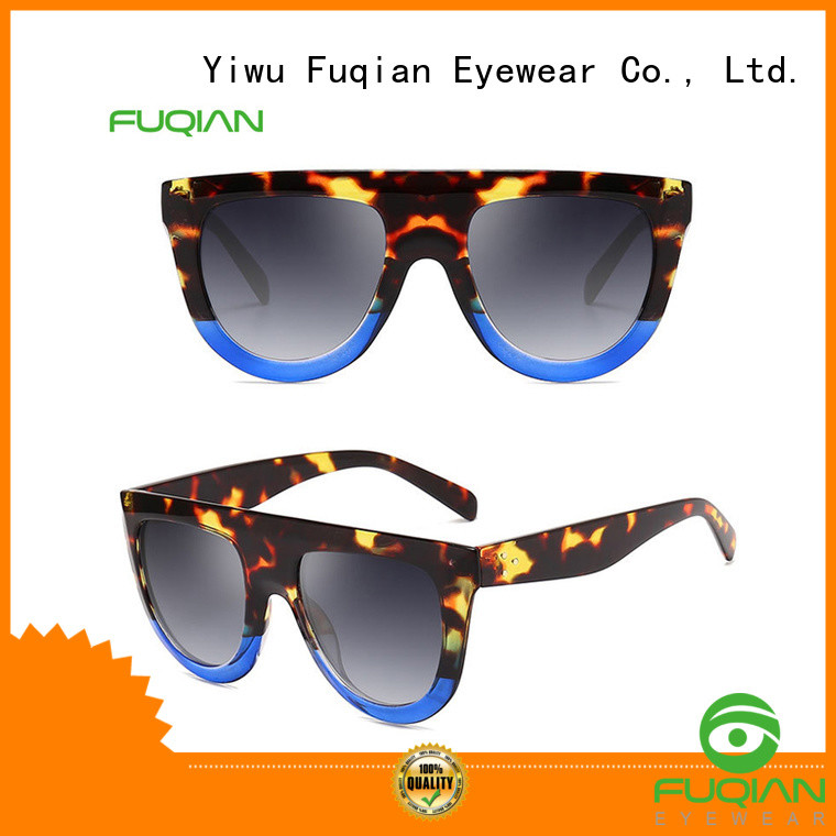 Fuqian classic sunglasses womens company for sport