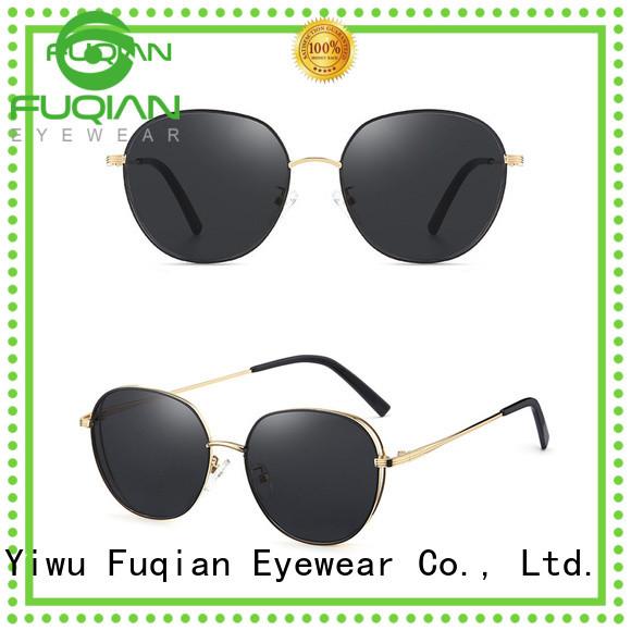 Fuqian Top womens gold sunglasses company for lady