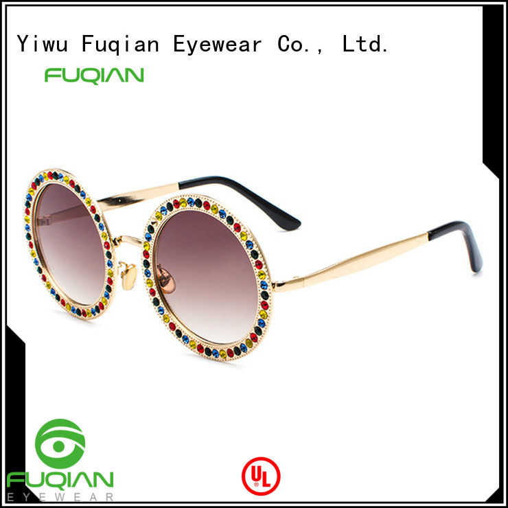 Fuqian Wholesale blue polarized sunglasses for business for racing